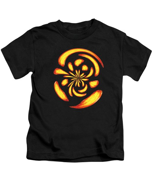 Dancing Fire Balls Kids T-Shirt