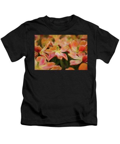 Dancing Flowers Kids T-Shirt