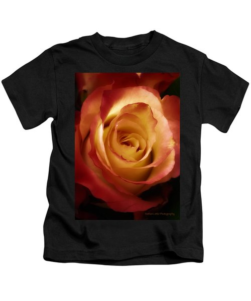 Dark Rose Kids T-Shirt