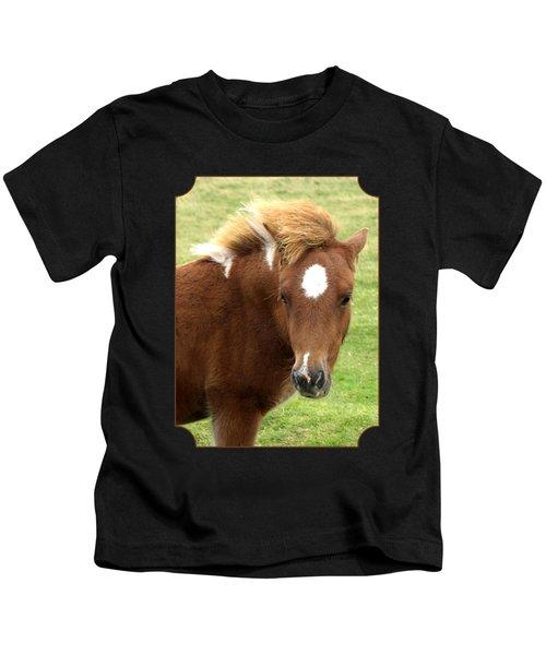 Dartmoor Pony Kids T-Shirt
