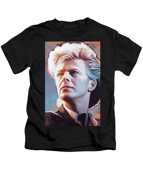 David Bowie Artwork 2 Kids T-Shirt