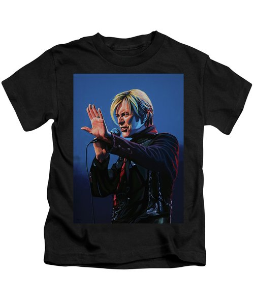 David Bowie Live Painting Kids T-Shirt