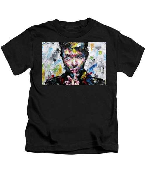 David Bowie Shh Kids T-Shirt