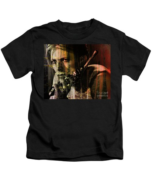 David Bowie / The Man Who Fell To Earth  Kids T-Shirt