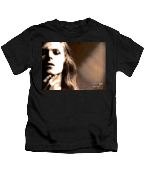 David Bowie / Through The Dream State Softly  Kids T-Shirt
