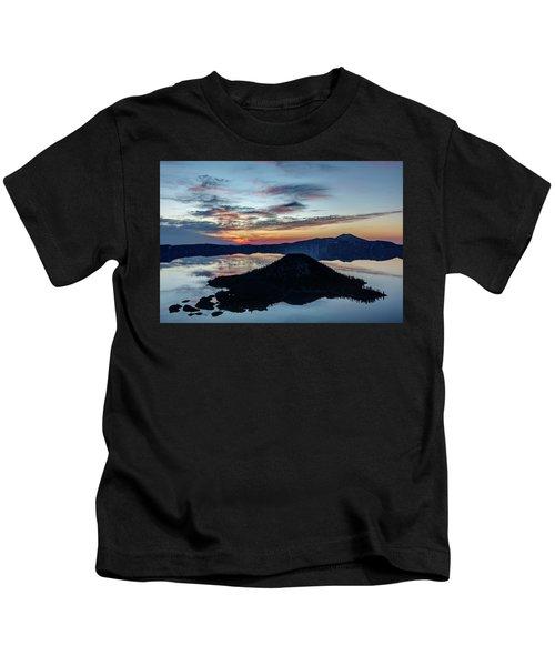 Dawn Inside The Crater Kids T-Shirt