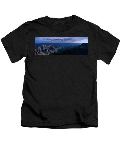 Dawn North Rim Grand Canyon National Kids T-Shirt
