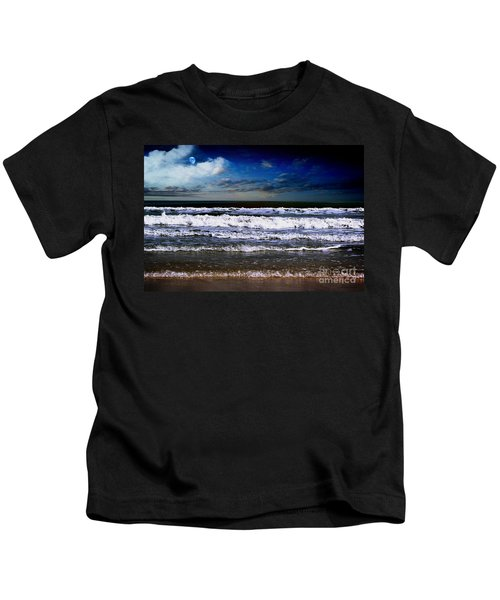 Dawn Of A New Day Seascape C2 Kids T-Shirt