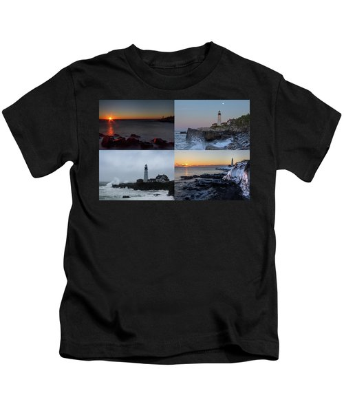 Day Or Night In Any Season Kids T-Shirt