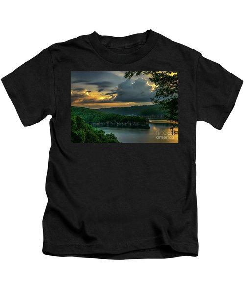 Daybreak Over Long Point Kids T-Shirt