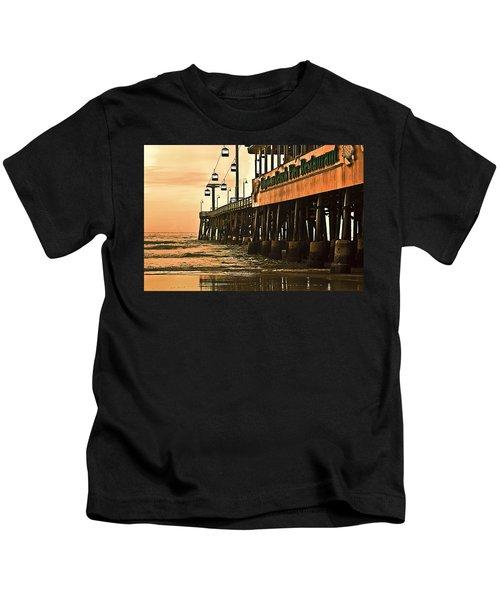 Daytona Beach Pier Kids T-Shirt
