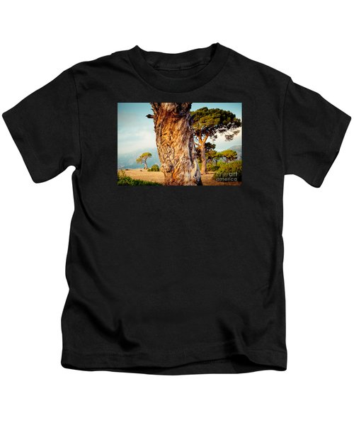 Dead Tree And Forest  Kids T-Shirt
