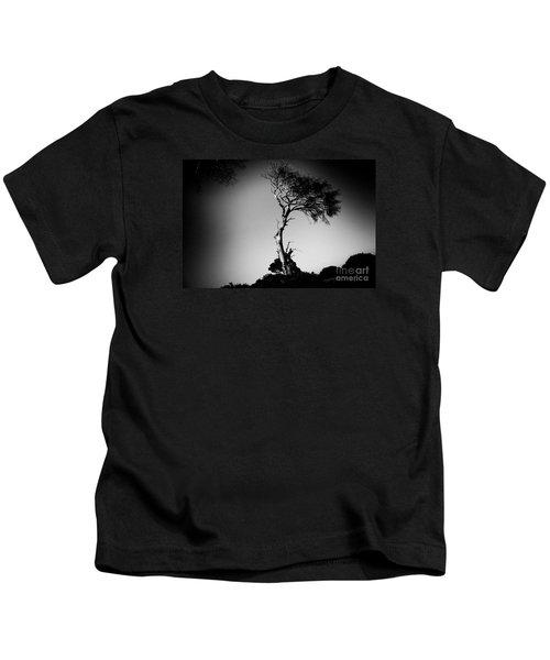Dead Tree Bw Kids T-Shirt