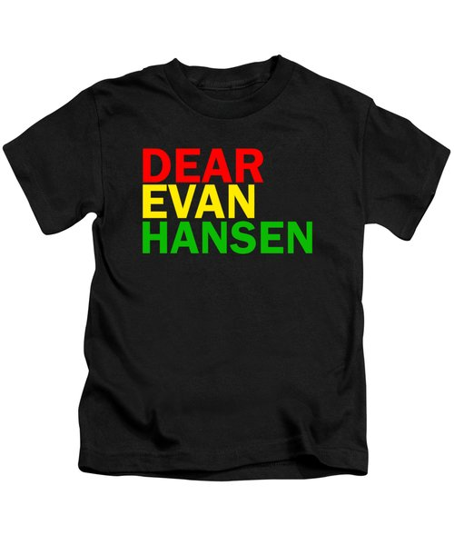 Dear Evan Hansen Kids T-Shirt