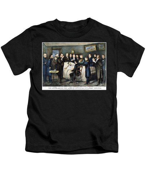 Death Of Lincoln, 1865 Kids T-Shirt