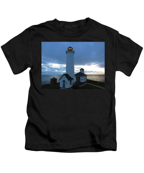 December Light, Tibbetts Point  Kids T-Shirt