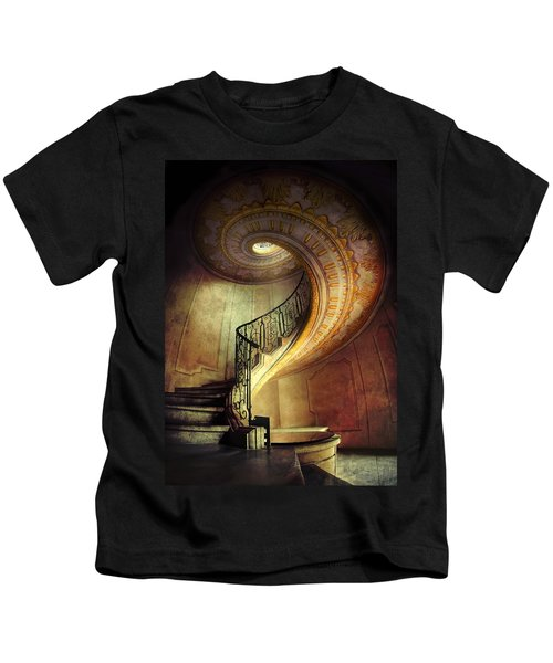 Decorated Spiral Staircase  Kids T-Shirt