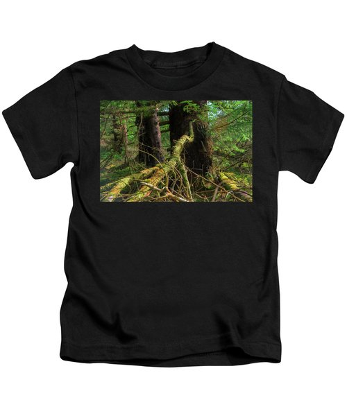 Deep In The Woods Kids T-Shirt