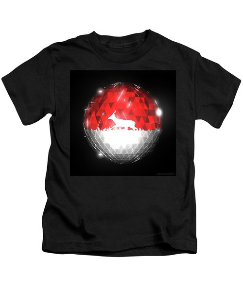 Deer Bauble - Frame 10 Kids T-Shirt