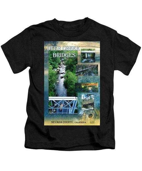 Deer Creek Bridges Kids T-Shirt