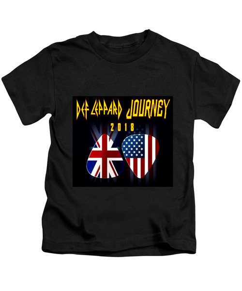 Def Leppard And Journey Tour Kids T-Shirt