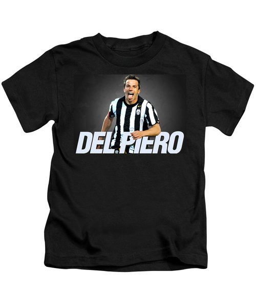 Del Piero Kids T-Shirt by Semih Yurdabak