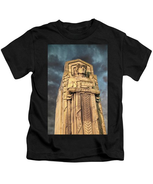 Delivery Truck Guardian Kids T-Shirt
