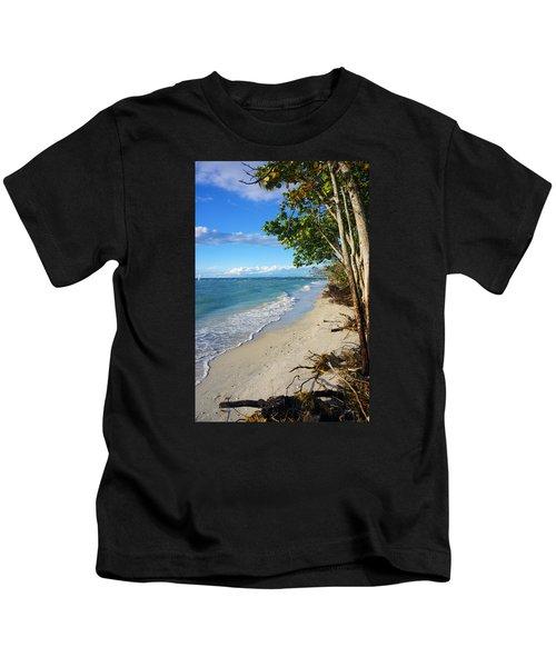 Delnor Wiggins Pass State Park Kids T-Shirt