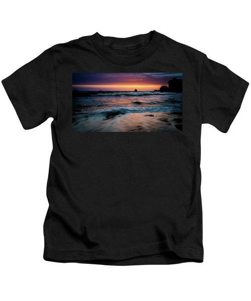 Demartin Beach Sunset Kids T-Shirt