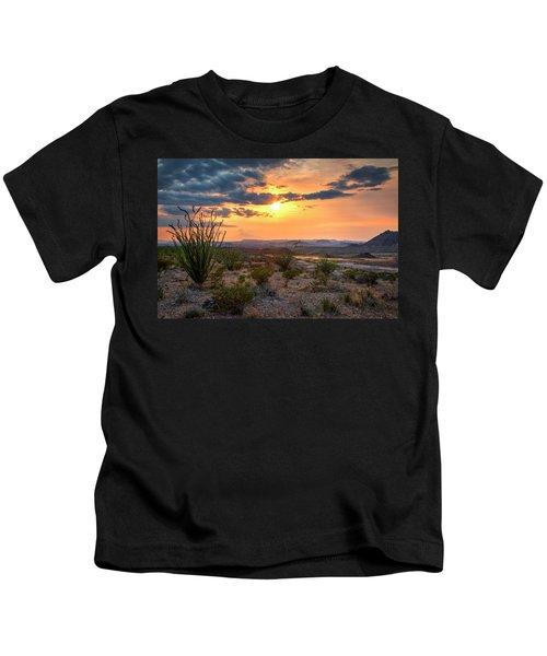 Big Bend Desert Glow II Kids T-Shirt