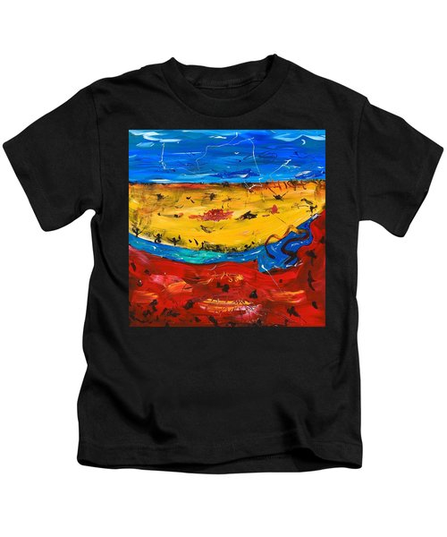 Desert Stream Kids T-Shirt