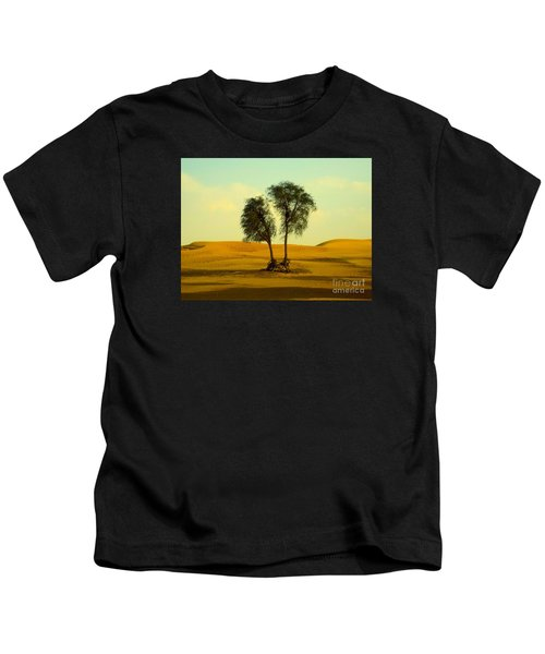 Desert Trees Kids T-Shirt