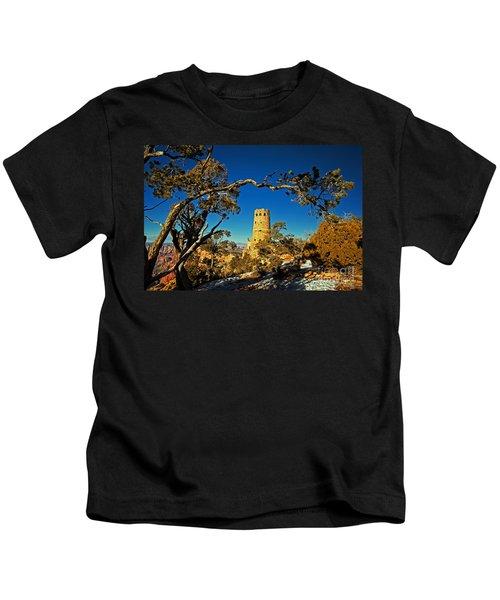 Desert View Watchtower, Grand Canyon National Park, Arizona Kids T-Shirt