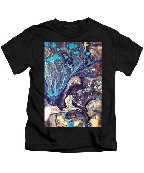 Detail Of Fluid Painting 2 Kids T-Shirt