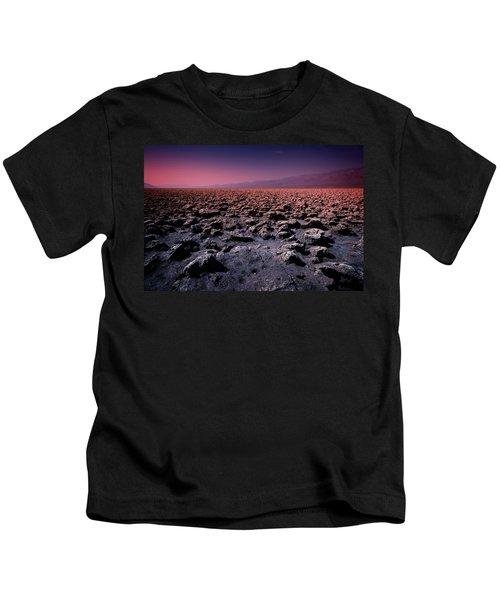 Devil's Golf Course Iv Kids T-Shirt