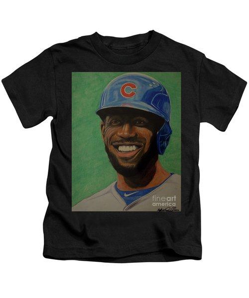 Dexter Fowler Portrait Kids T-Shirt