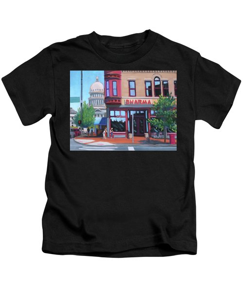 Dharma Building - Boise Kids T-Shirt
