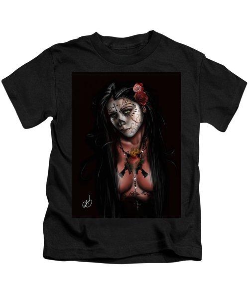 Dia De Los Muertos 3 Kids T-Shirt
