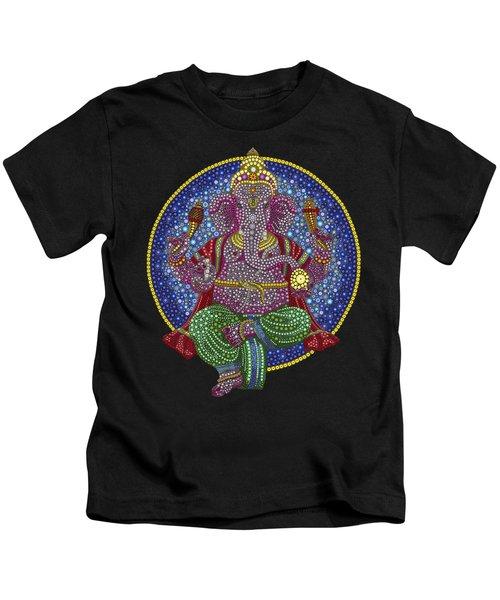 Digital Ganesha Kids T-Shirt