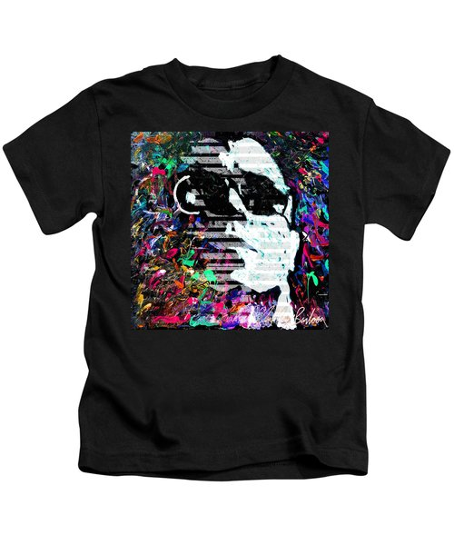 digital Lou Reed Kids T-Shirt