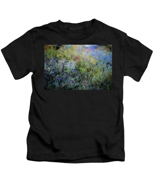 Digital Watercolor Field Of Wildflowers 4064 W_2 Kids T-Shirt