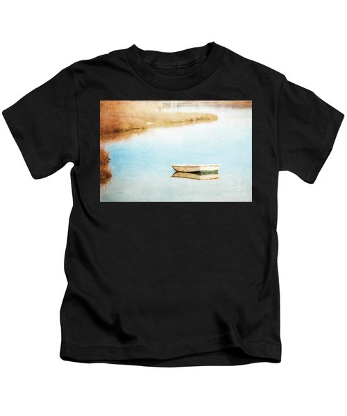 Dinghy In Eastham Kids T-Shirt