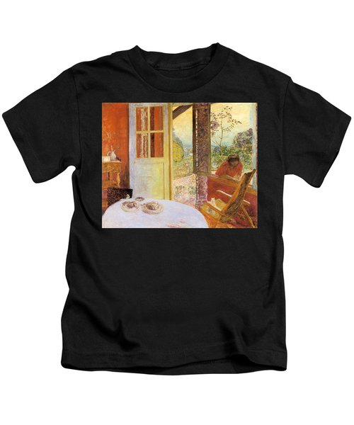 Dining Room In The Country Kids T-Shirt