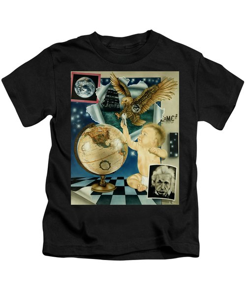 Discovery Of The New World Kids T-Shirt