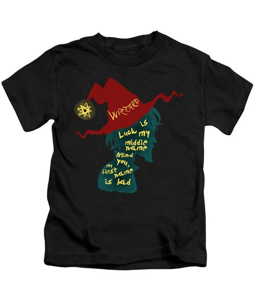 Discworld - Rincewind Kids T-Shirt by Sator