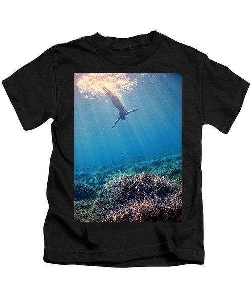 Diving Into The Unknown Kids T-Shirt