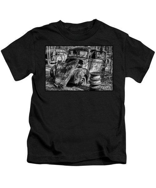 Do Not Open Hood Kids T-Shirt