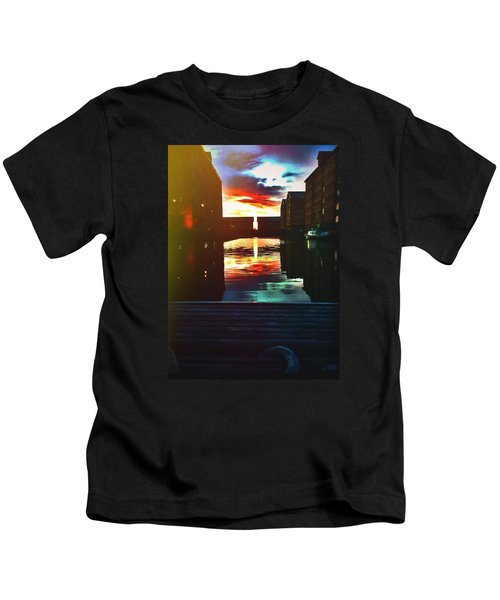 Dockland Sun Down Kids T-Shirt
