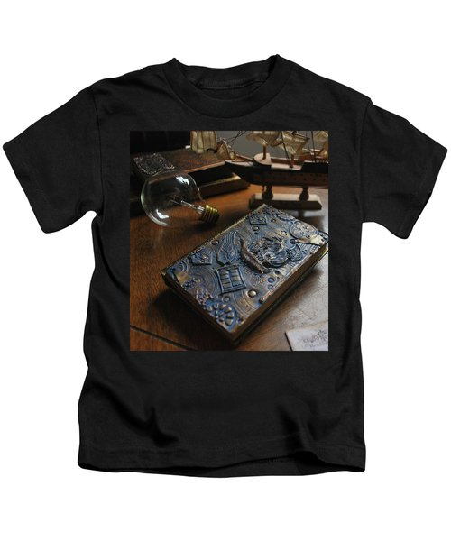 Doctor Who Steampunk Journal  Kids T-Shirt