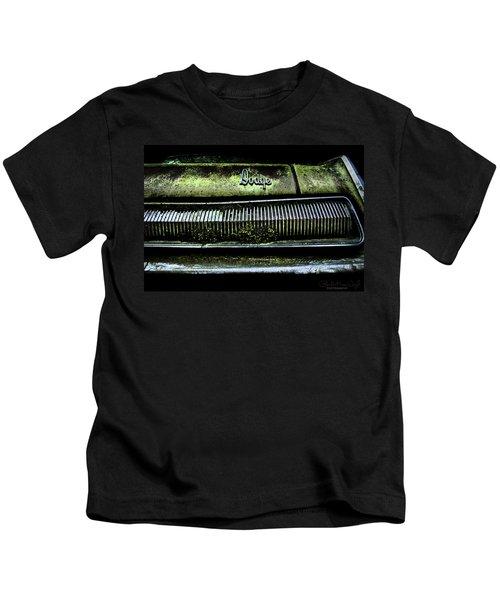 Dodge Green Grin Kids T-Shirt